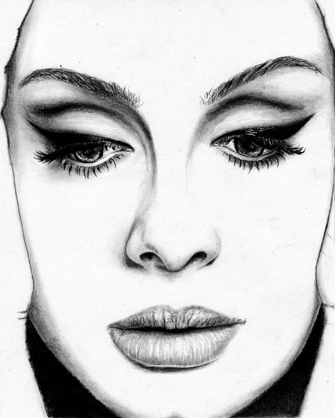 Adele by Hillcza